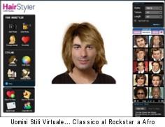 Simulatore taglio capelli uomo