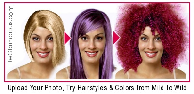 Upload Your Photo, Try  Hairstyles and Hair Colors