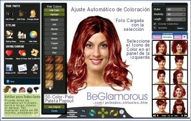 Aplicacion gratis para cortes de pelo