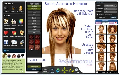 Try Scene, Emo Hairstyles on Yourself, Online - Virtual Hair Styles ...