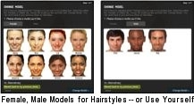Hairstyle Selector Models