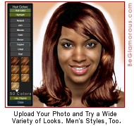 Virtual Hairstyles for African Americans