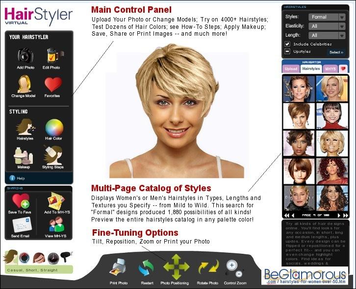 Swell Virtual Hairstyles For Women Over 50 Short Hairstyles For Black Women Fulllsitofus