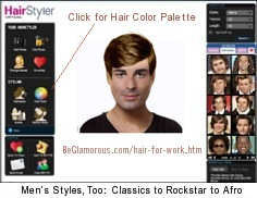 Outstanding Hair For Work Test Virtual Hairstyles Colors Online Short Hairstyles Gunalazisus