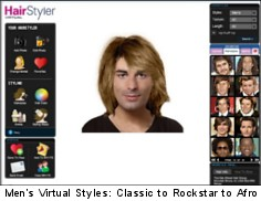 Fabulous Virtual Hairstyle Selector Online Beglamorous Com Short Hairstyles Gunalazisus