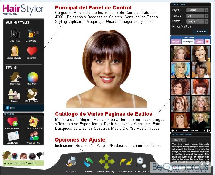 Cambiar tu color de pelo online