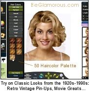 Super Virtual Hairstyle Selector Online Beglamorous Com Short Hairstyles For Black Women Fulllsitofus