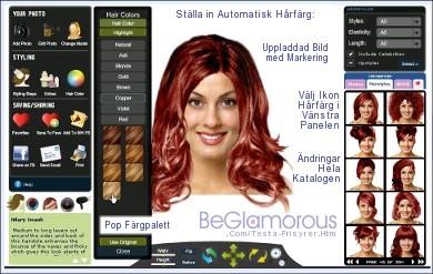 kolla vilken hårfärg du passar